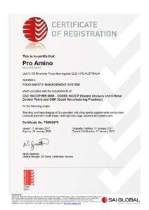 Certificate FSM42470 20170117